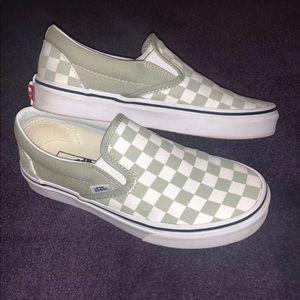 Vans Shoes | Vans Sage Checkered Slip